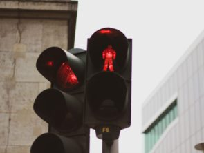 Red stop light
